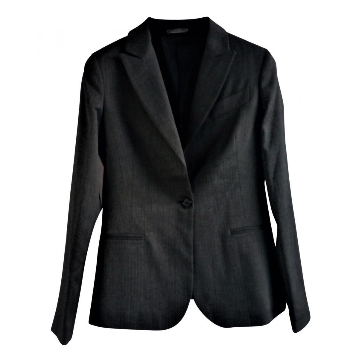 Hope \N Grey Cotton jacket for Women 44 IT
