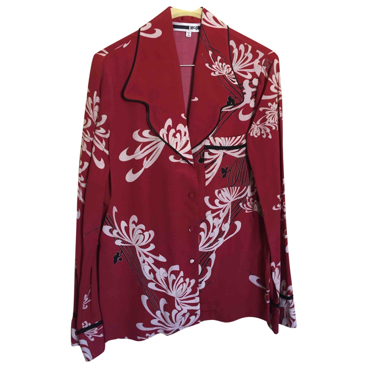 Mcq \N Burgundy  top for Women 38 IT