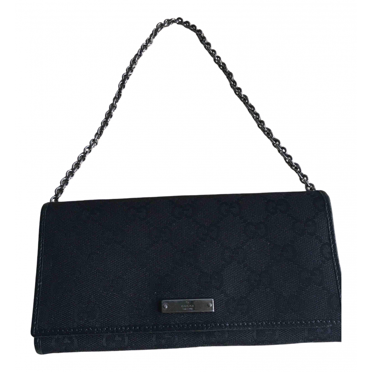 Gucci N Black Cloth wallet for Women N