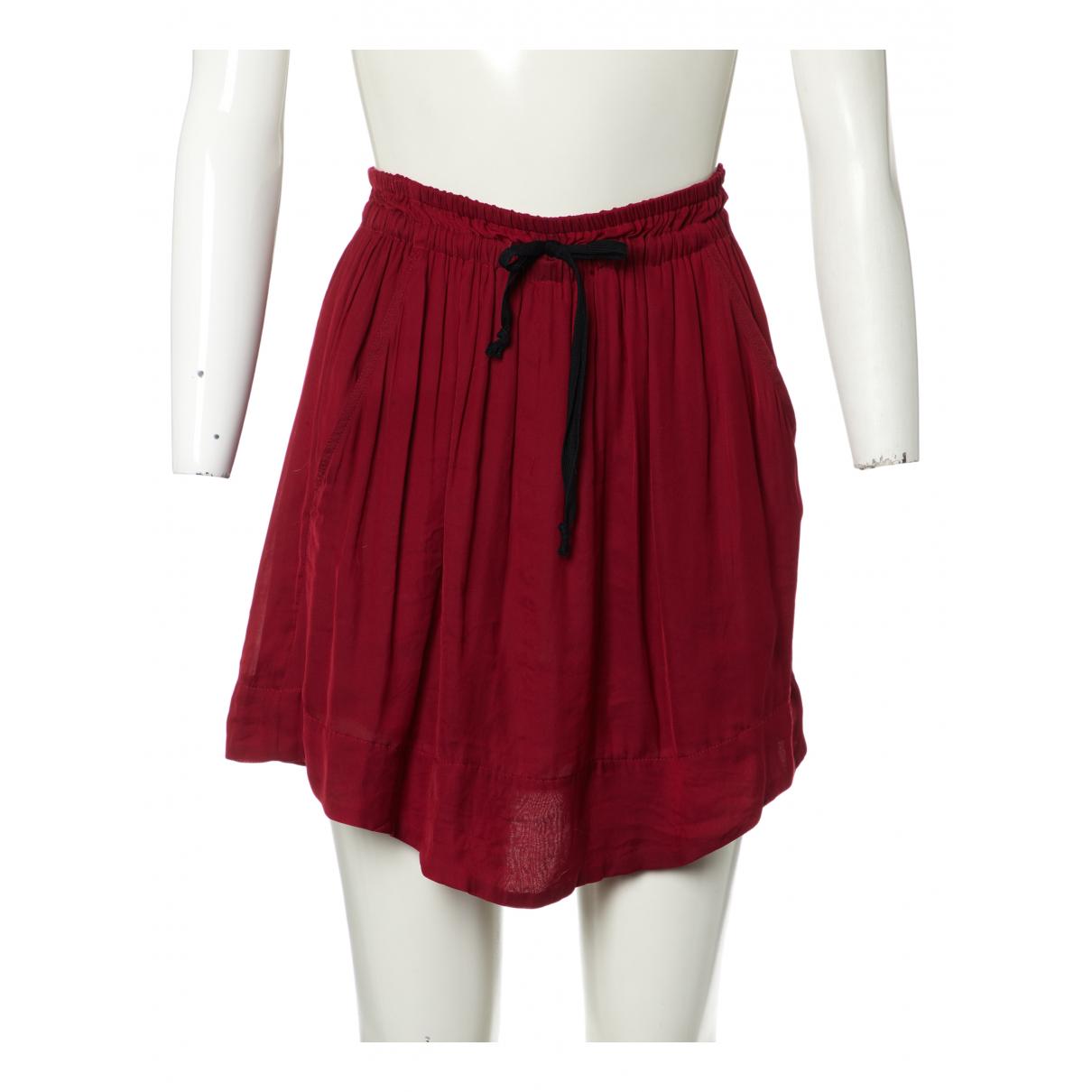Isabel Marant Etoile N Burgundy skirt for Women 38 FR