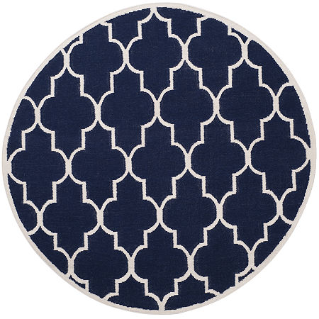 Safavieh Avery Hand Woven Flat Weave Area Rug, One Size , Blue