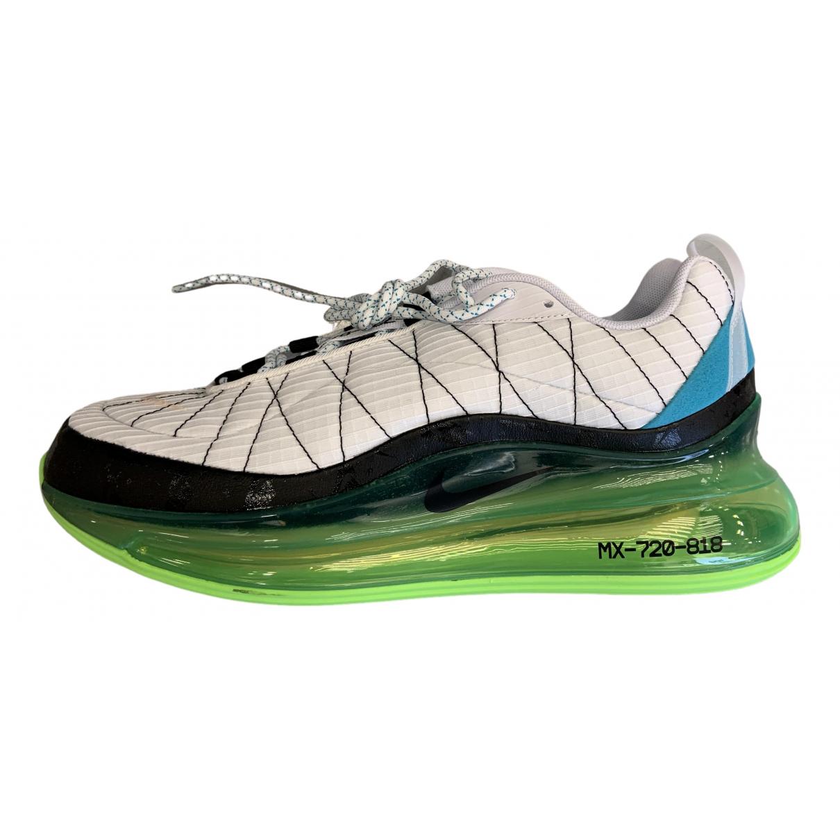Nike - Baskets Air Max 720 pour homme en cuir - blanc