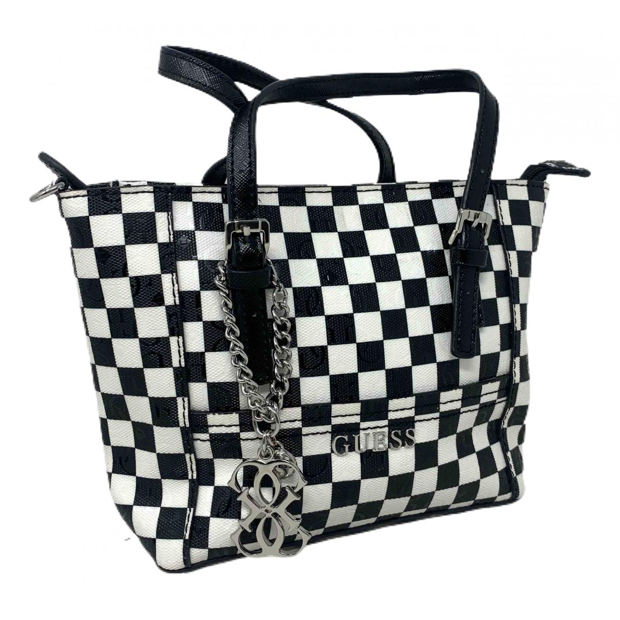 Guess \N Handtasche in Leinen