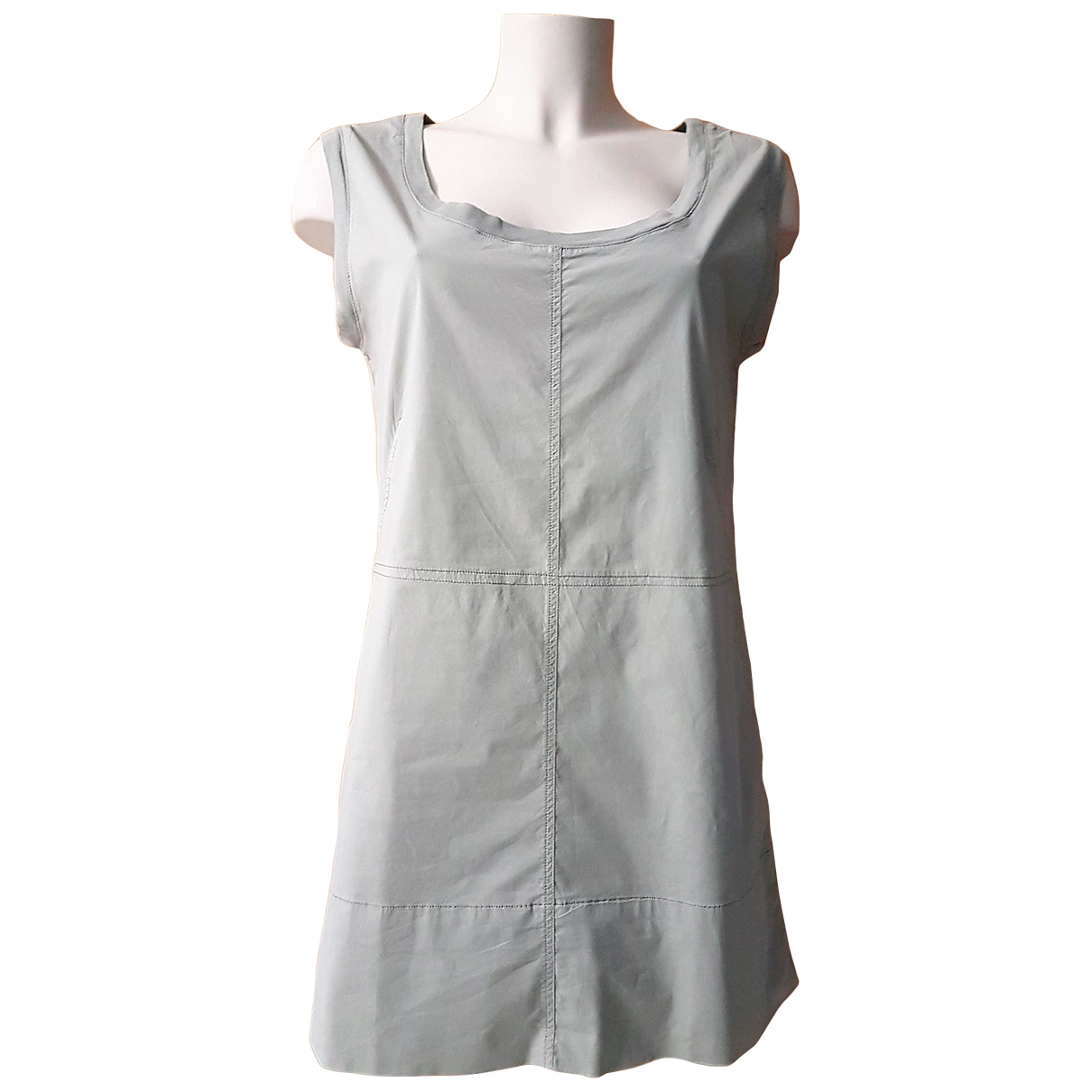 Kristensen Du Nord \N Kleid in  Grau Baumwolle
