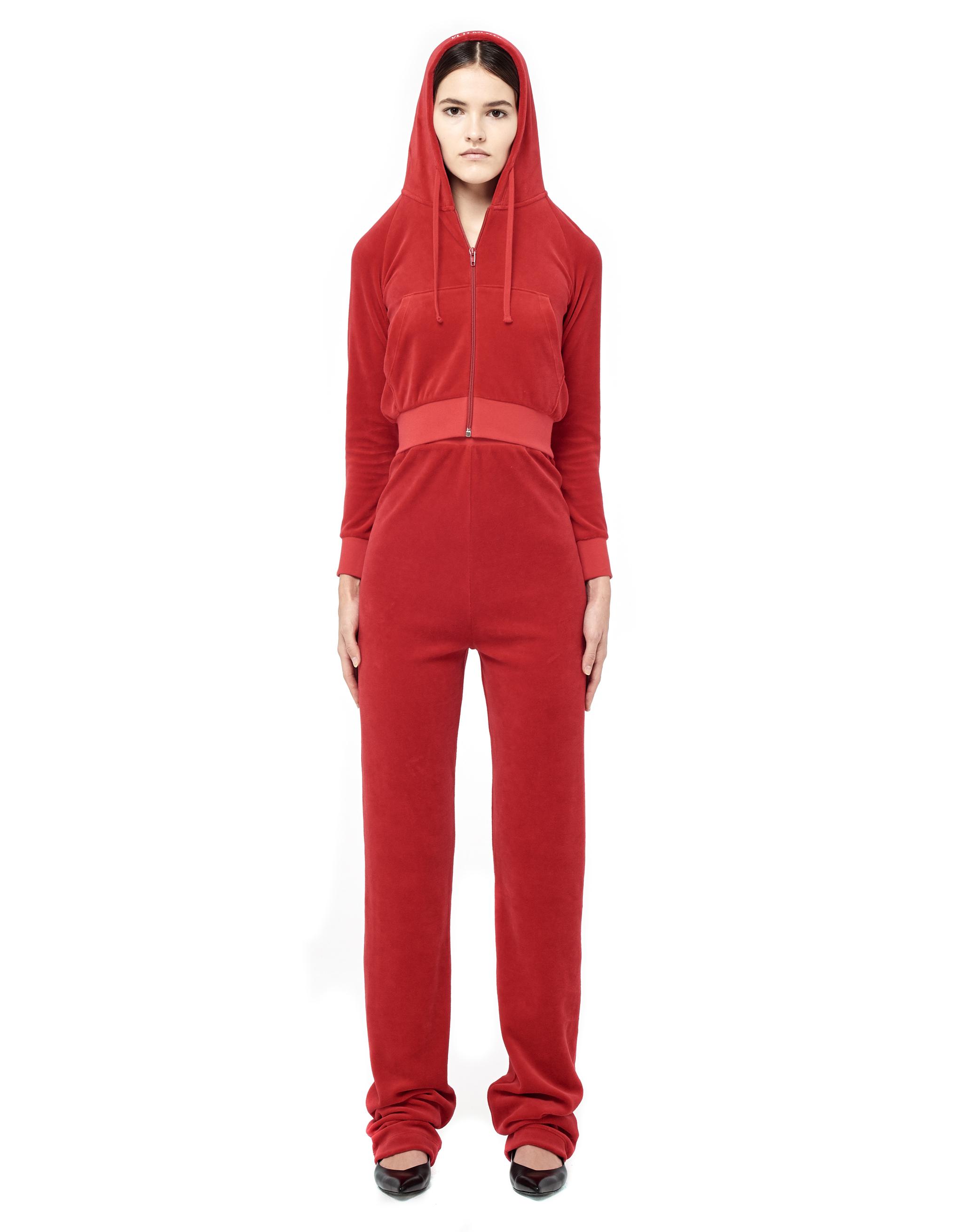 Vetements Juicy Couture velour tracksuit