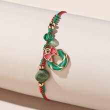 Armband mit Weihnachtsglocke Dekor