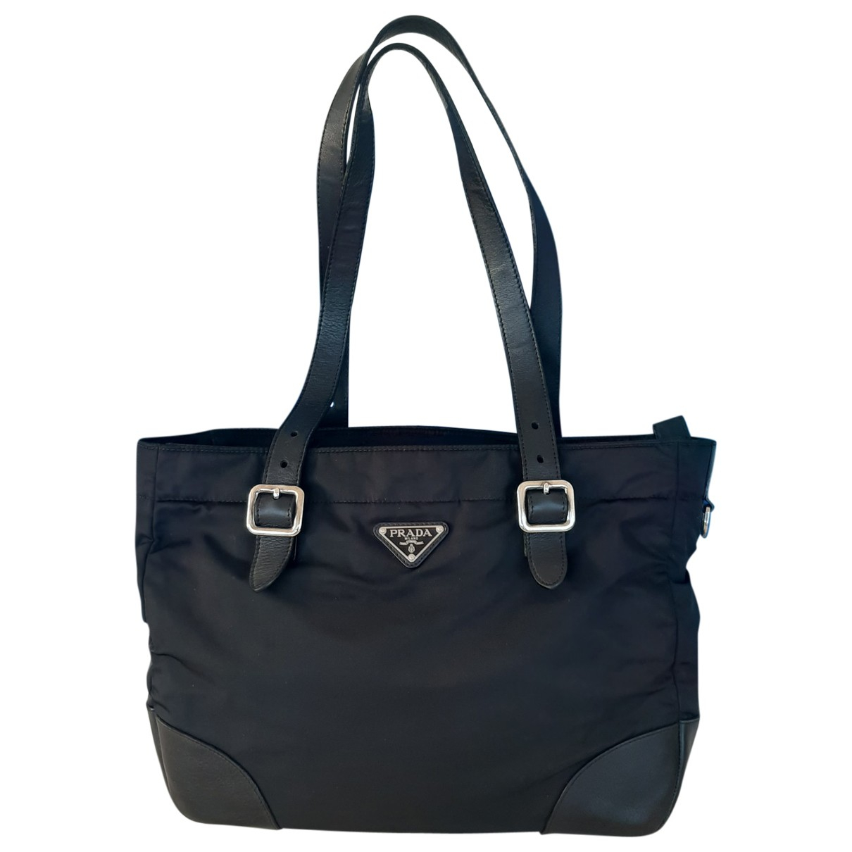 Prada Tessuto  Black Cloth handbag for Women \N