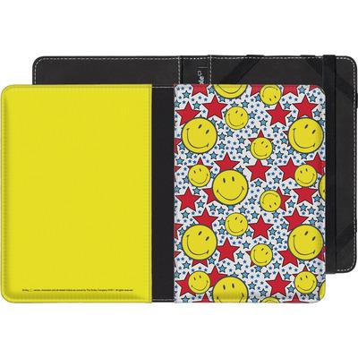 Kobo Glo eBook Reader Huelle - Preppy Colors von Smiley®