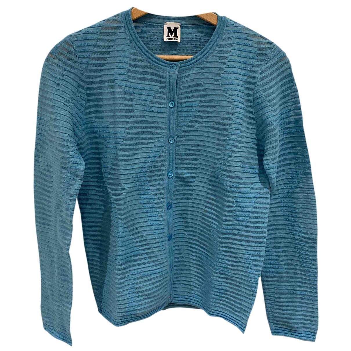 M Missoni N Blue Knitwear for Women 40 FR