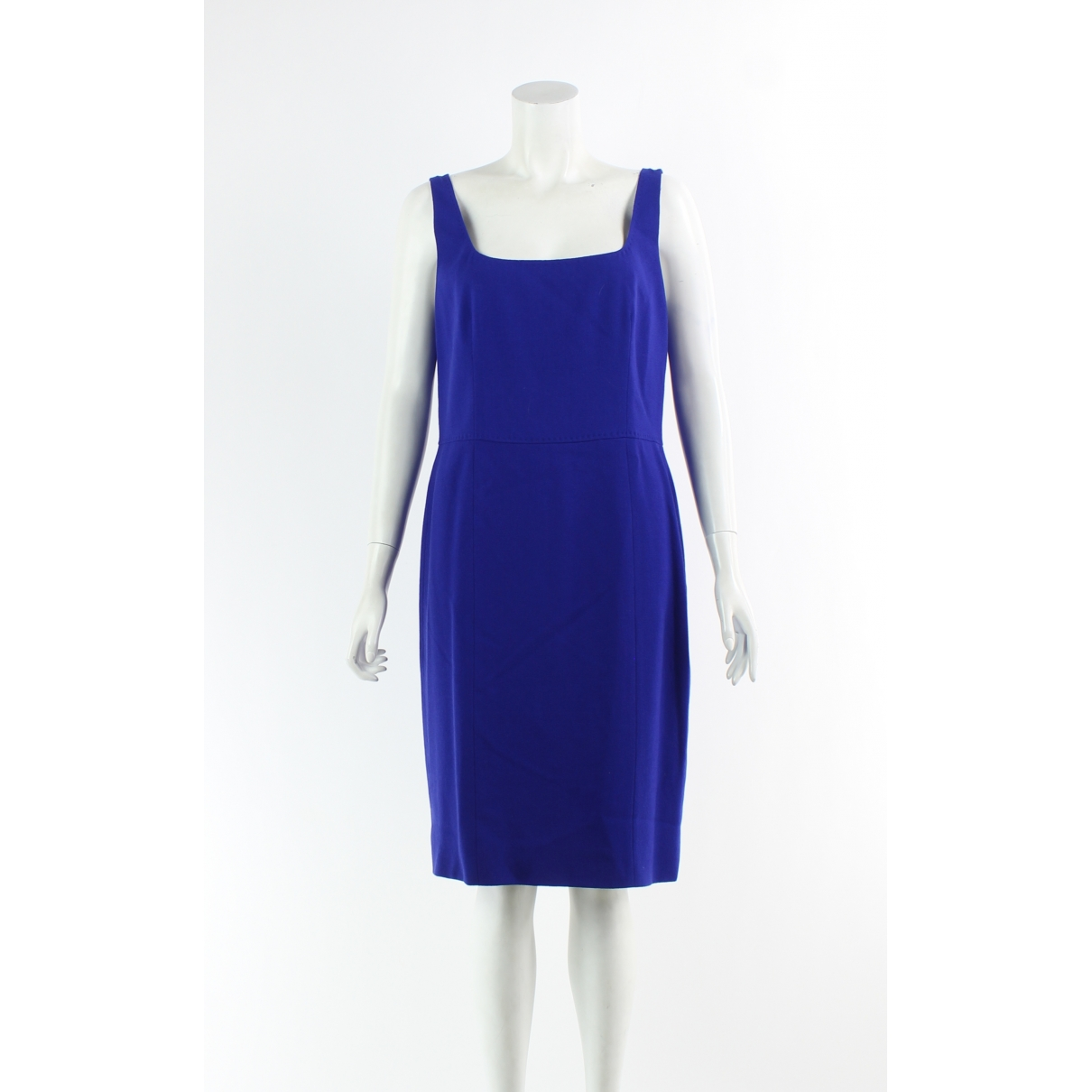 Moschino Cheap And Chic \N Kleid in  Blau Wolle