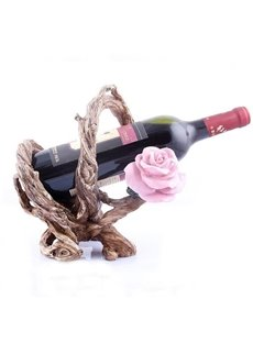 New Arrival Graceful Environmental Protection Resin Tree Root Wine Rack