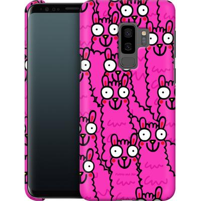 Samsung Galaxy S9 Plus Smartphone Huelle - Lama Pink Dream von Flossy and Jim