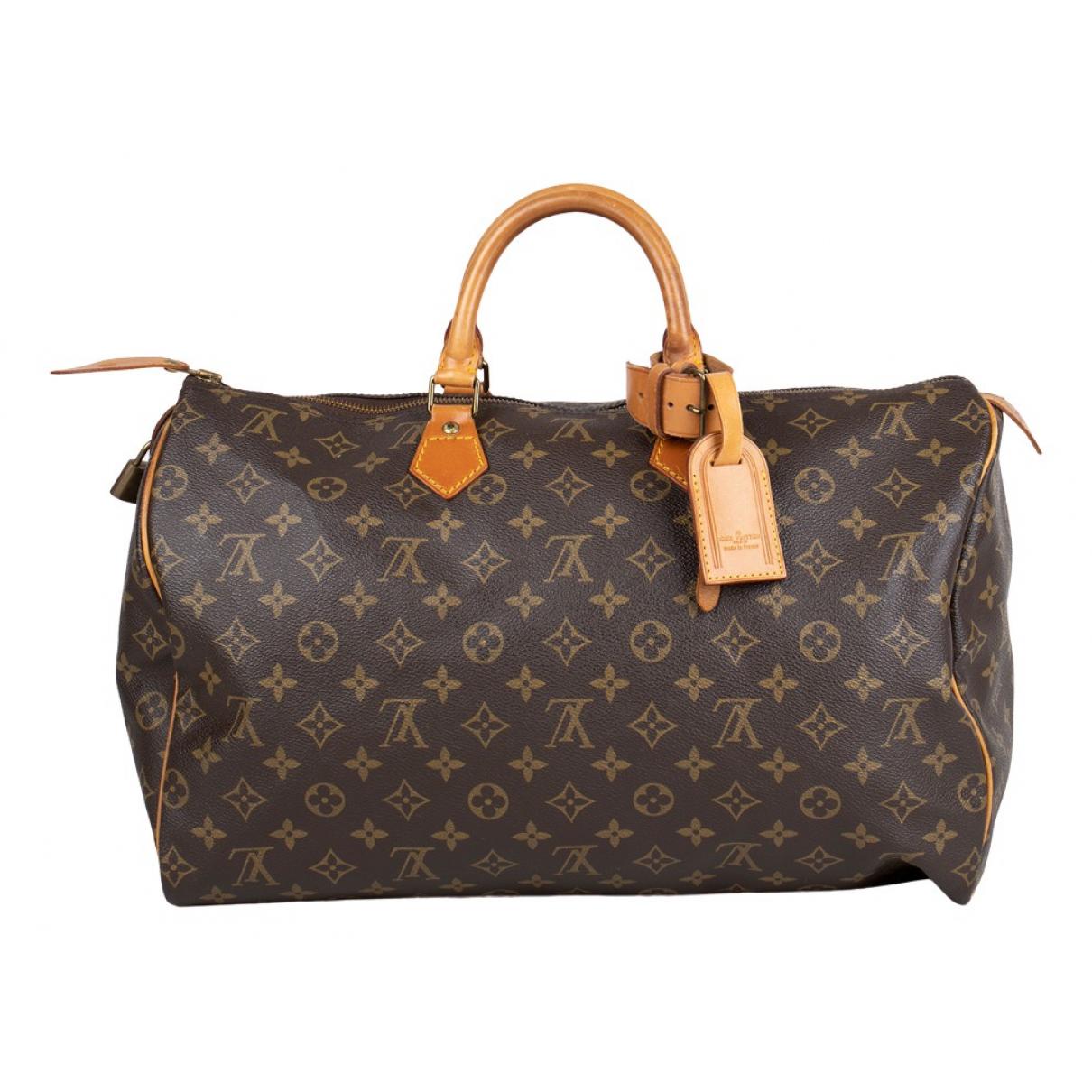Bolso boston Speedy de Lona Louis Vuitton