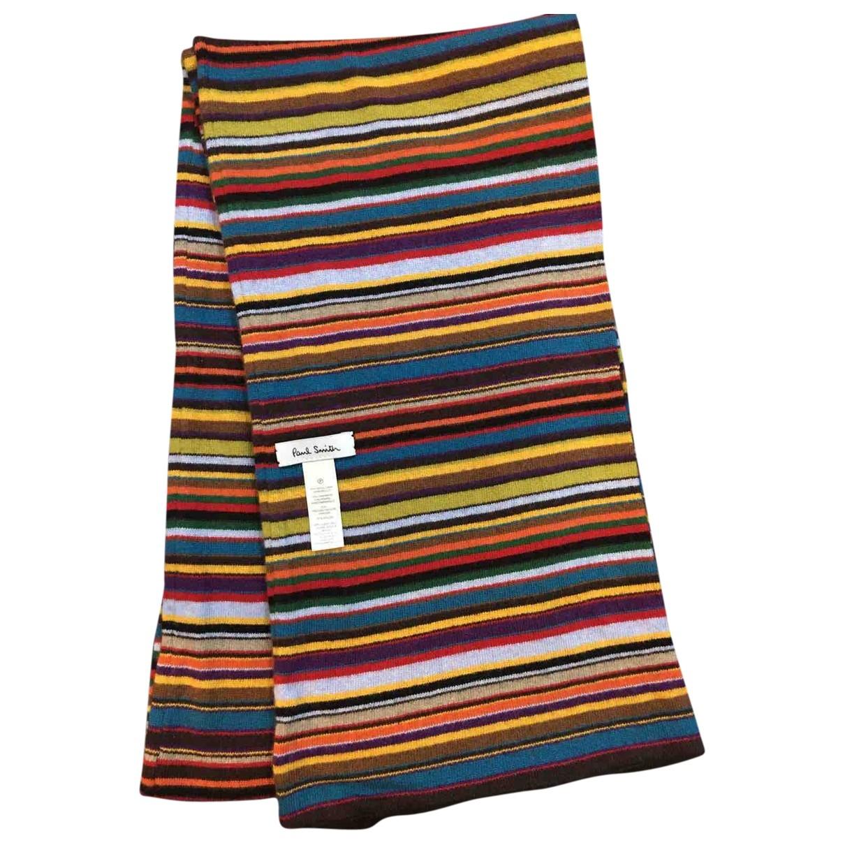 Paul Smith - Cheches.Echarpes   pour homme en cachemire - multicolore