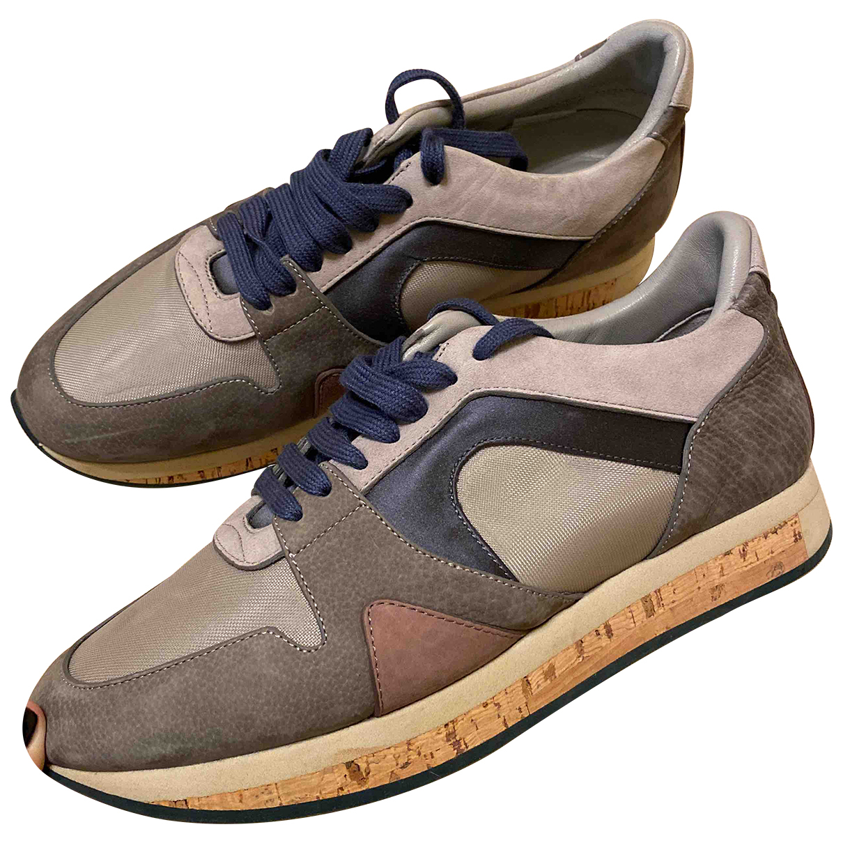 Burberry N Multicolour Leather Trainers for Women 39 EU