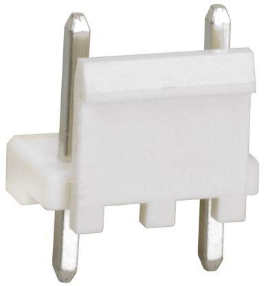 TE Connectivity , Economy Power, 3 Way, 1 Row, Straight PCB Header (10)