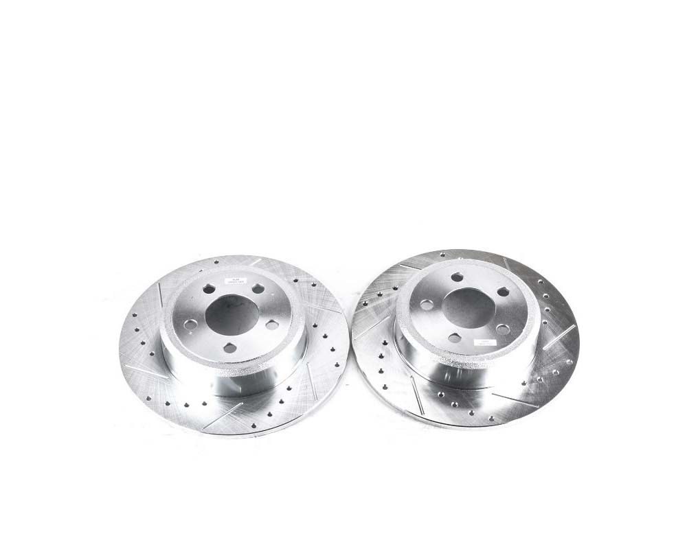 Power Stop AR8361XPR Evolution Drilled & Slotted Rotors - Pair Rear Chrysler 300 2005-2019