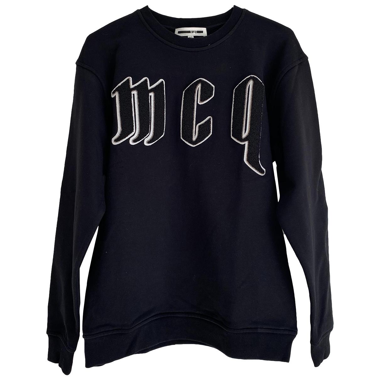 Mcq - Pull   pour femme en coton - noir