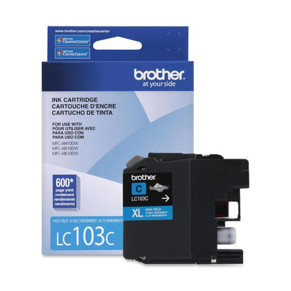 Brother MFC-J6720DW Original Cyan Ink Cartridge, High Yield