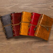 1pack Random Notebook With Pendant