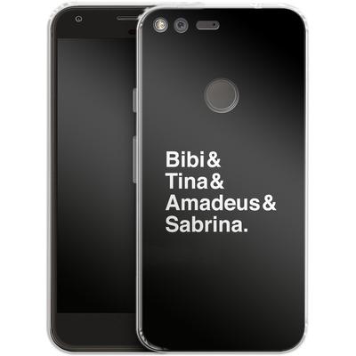Google Pixel Silikon Handyhuelle - Bibi&Tina&Amadeus&Sabrina von Bibi & Tina