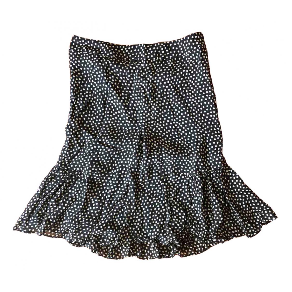 Aspesi \N Blue Silk skirt for Women 40 IT