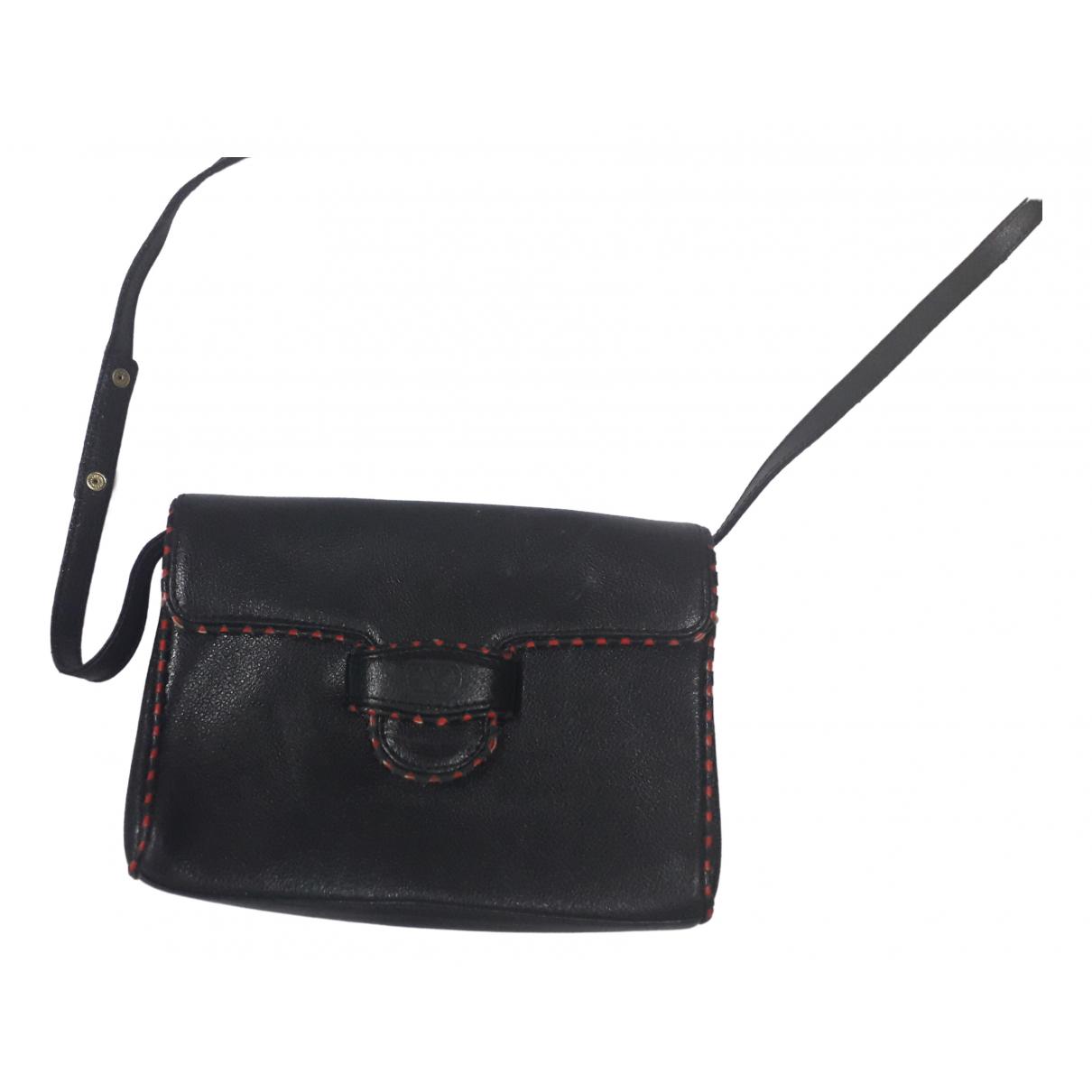Valentino Garavani \N Black Leather handbag for Women \N