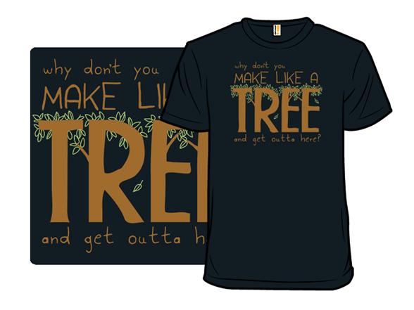 Leave T Shirt