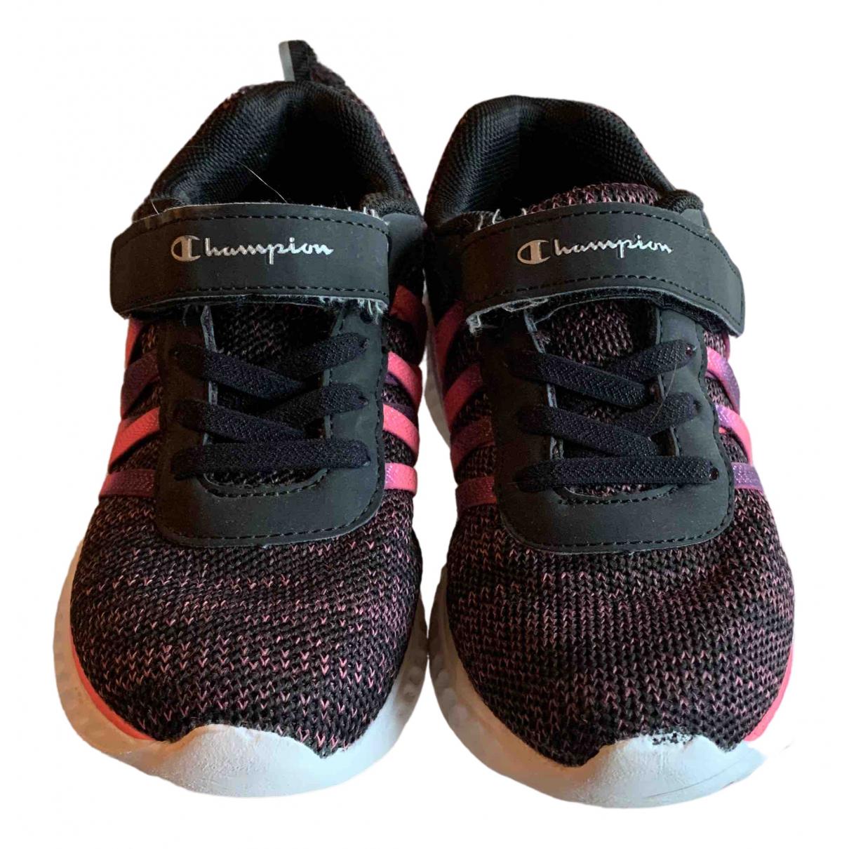 Champion \N Sneakers in  Schwarz Leinen