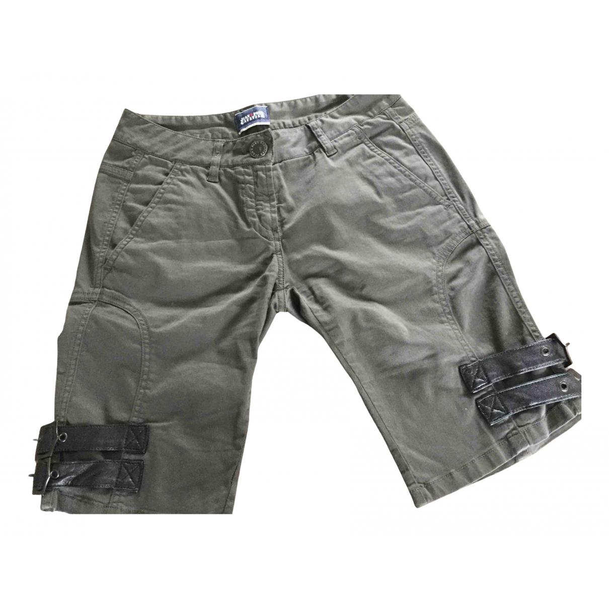 Jean Paul Gaultier \N Shorts in  Khaki Baumwolle