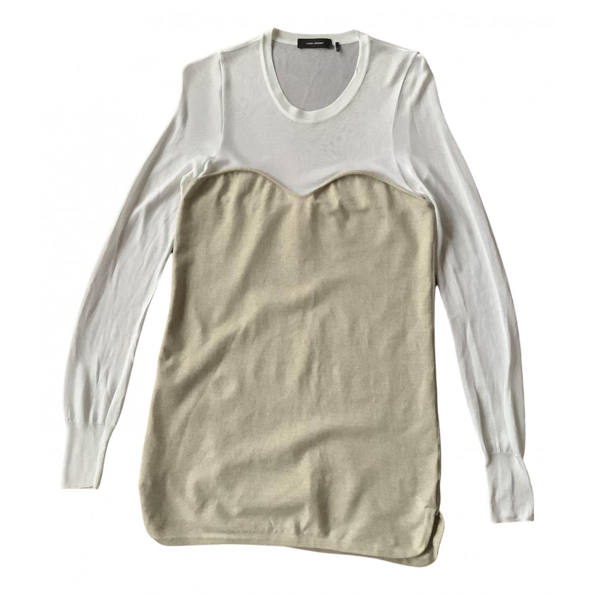 Isabel Marant \N Kleid in  Beige Wolle