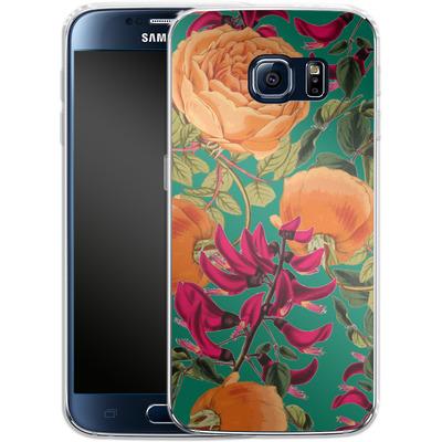 Samsung Galaxy S6 Silikon Handyhuelle - Sweet Spring von Zala Farah