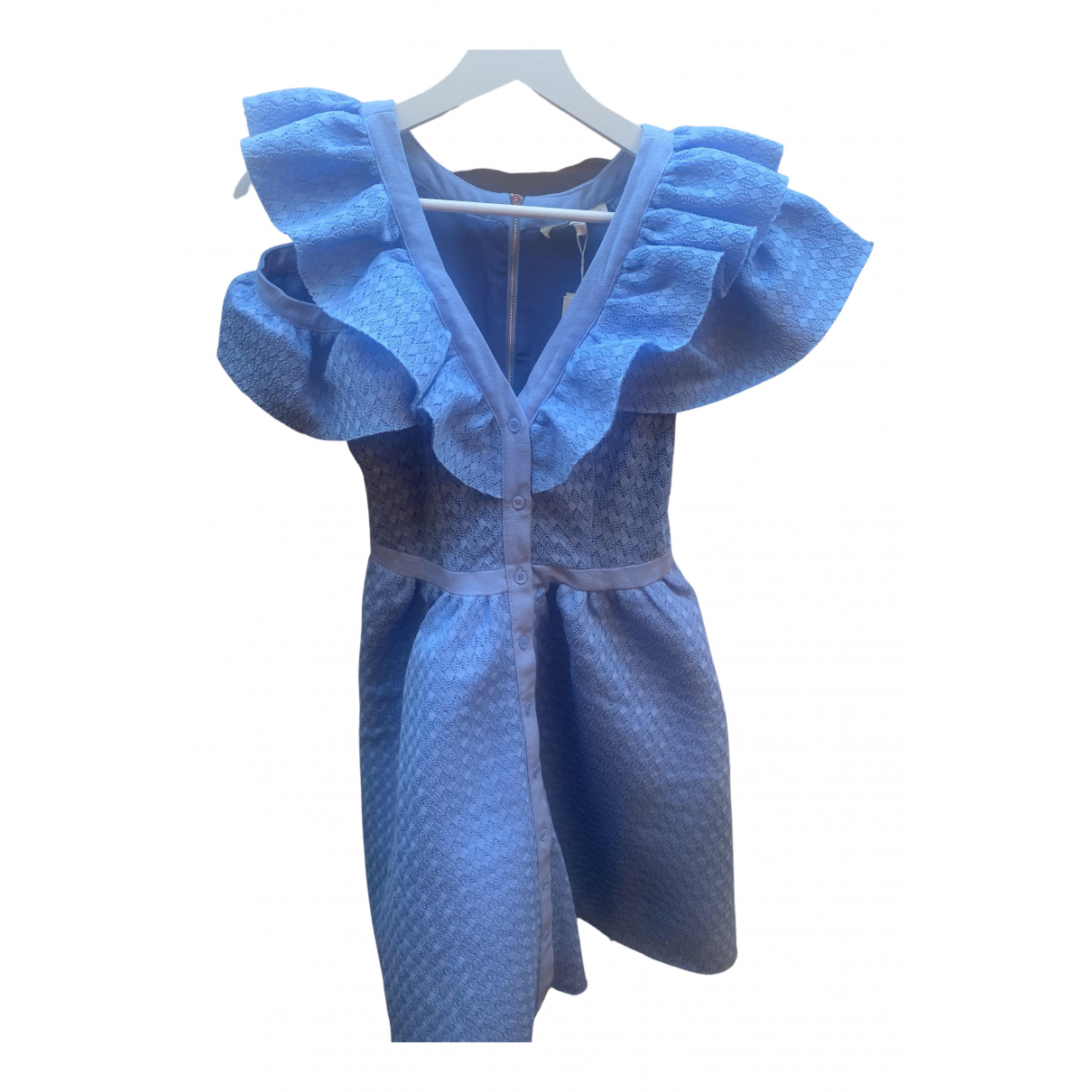 Maje Spring Summer 2020 Kleid in  Tuerkis Viskose
