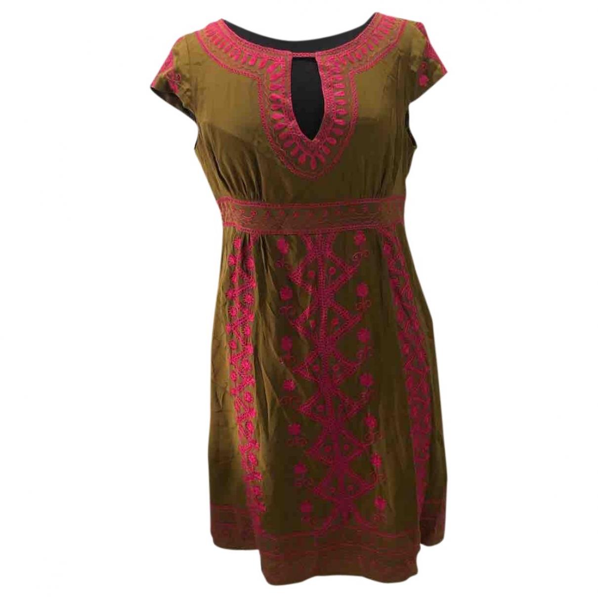 Vestido midi de Seda Nanette Lepore