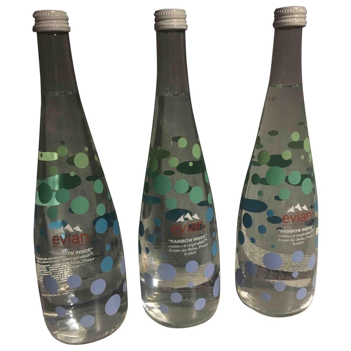 Virgil Abloh X Evian - Objets & Deco   pour lifestyle en verre