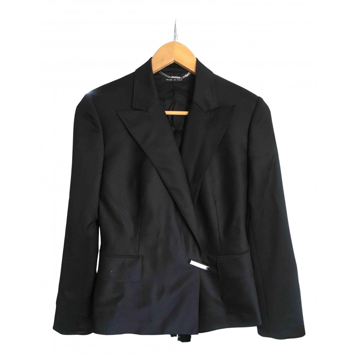 Gucci N Black Wool jacket for Women 40 IT