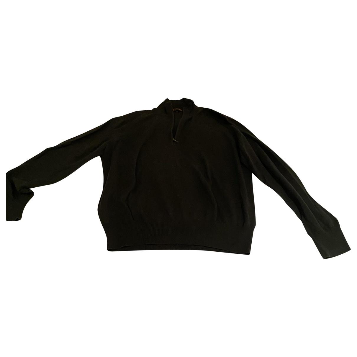 Loro Piana \N Pullover.Westen.Sweatshirts  in  Gruen Baumwolle