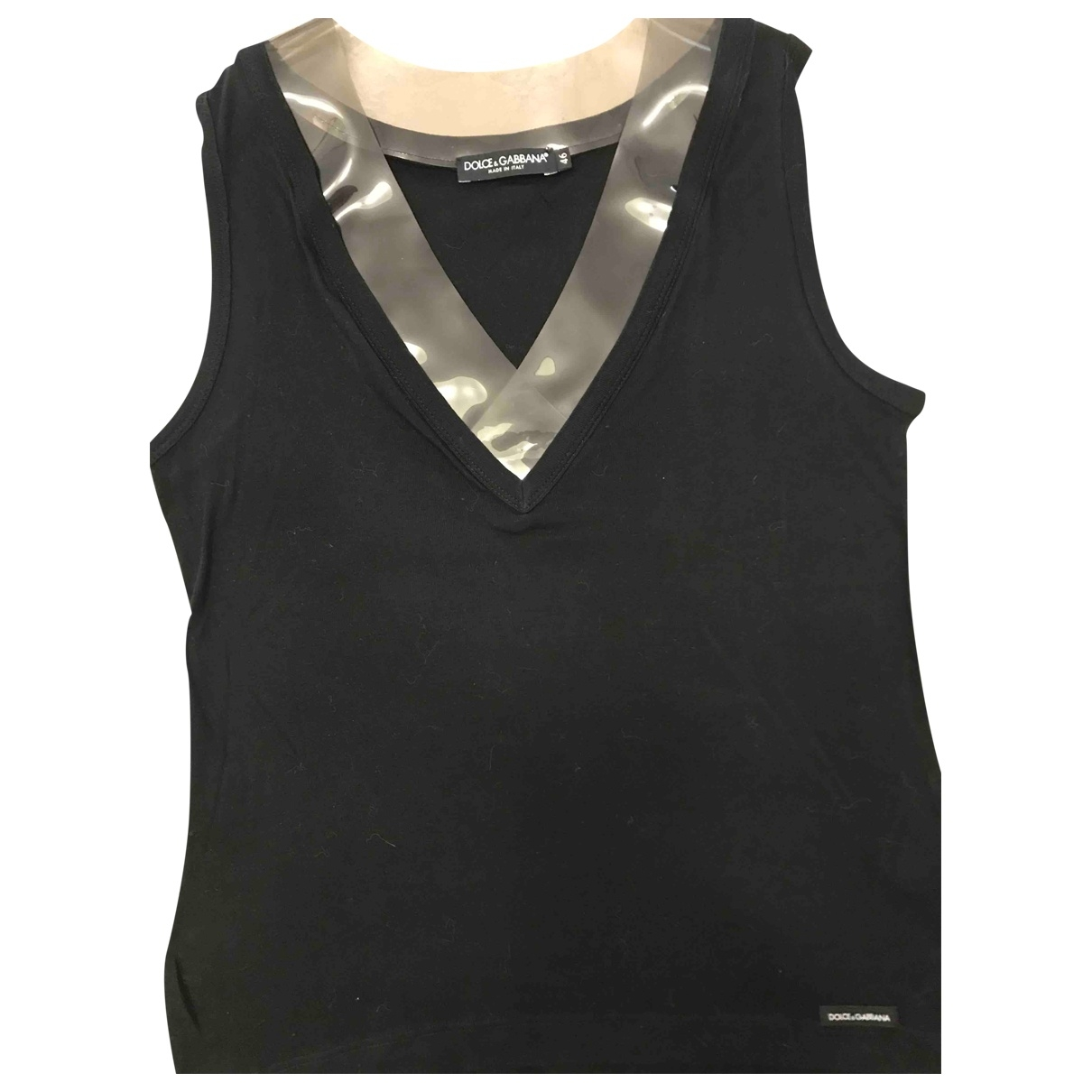 Dolce & Gabbana \N Black Cotton  top for Women 46 IT