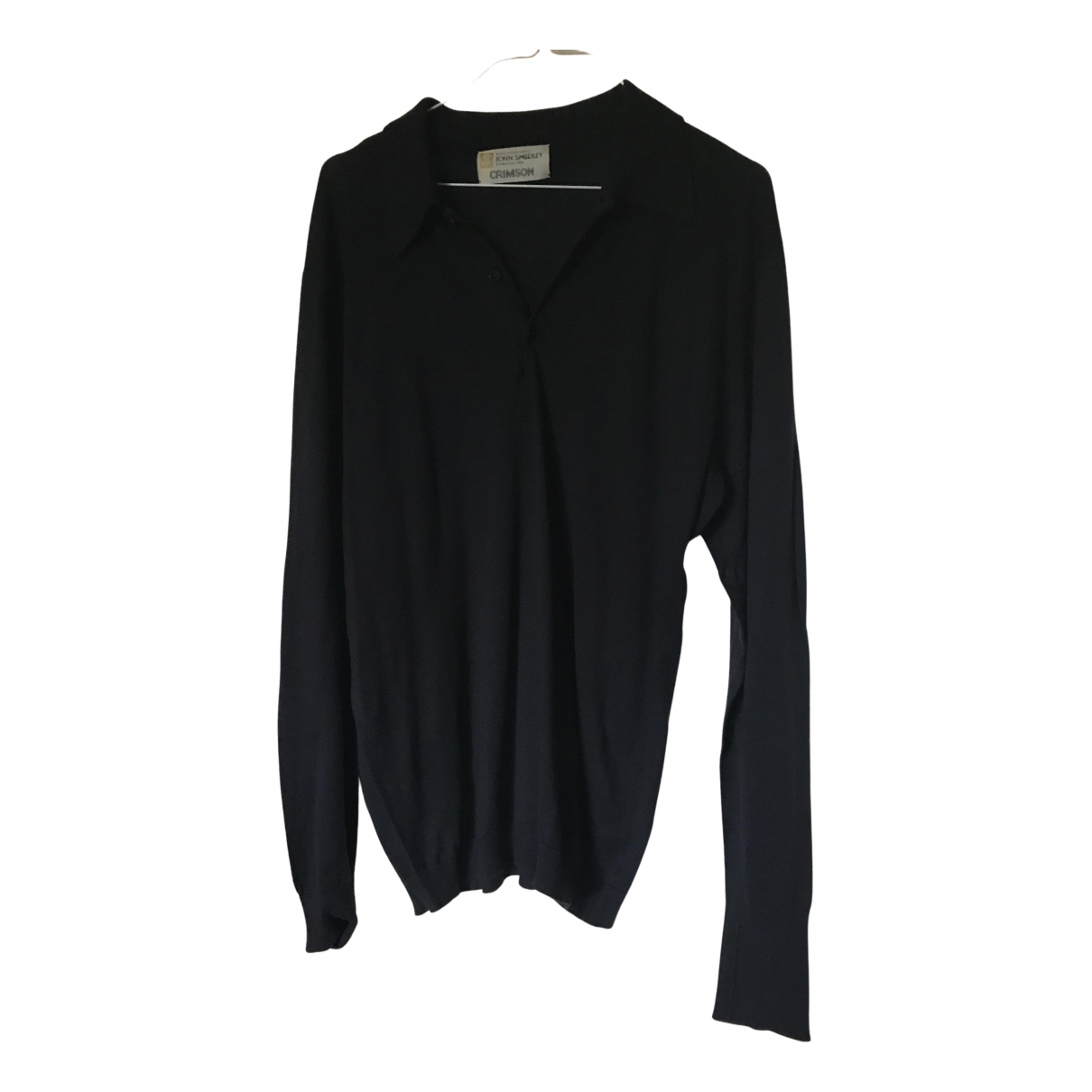 Crimson N Navy Cotton Knitwear & Sweatshirts for Men M International