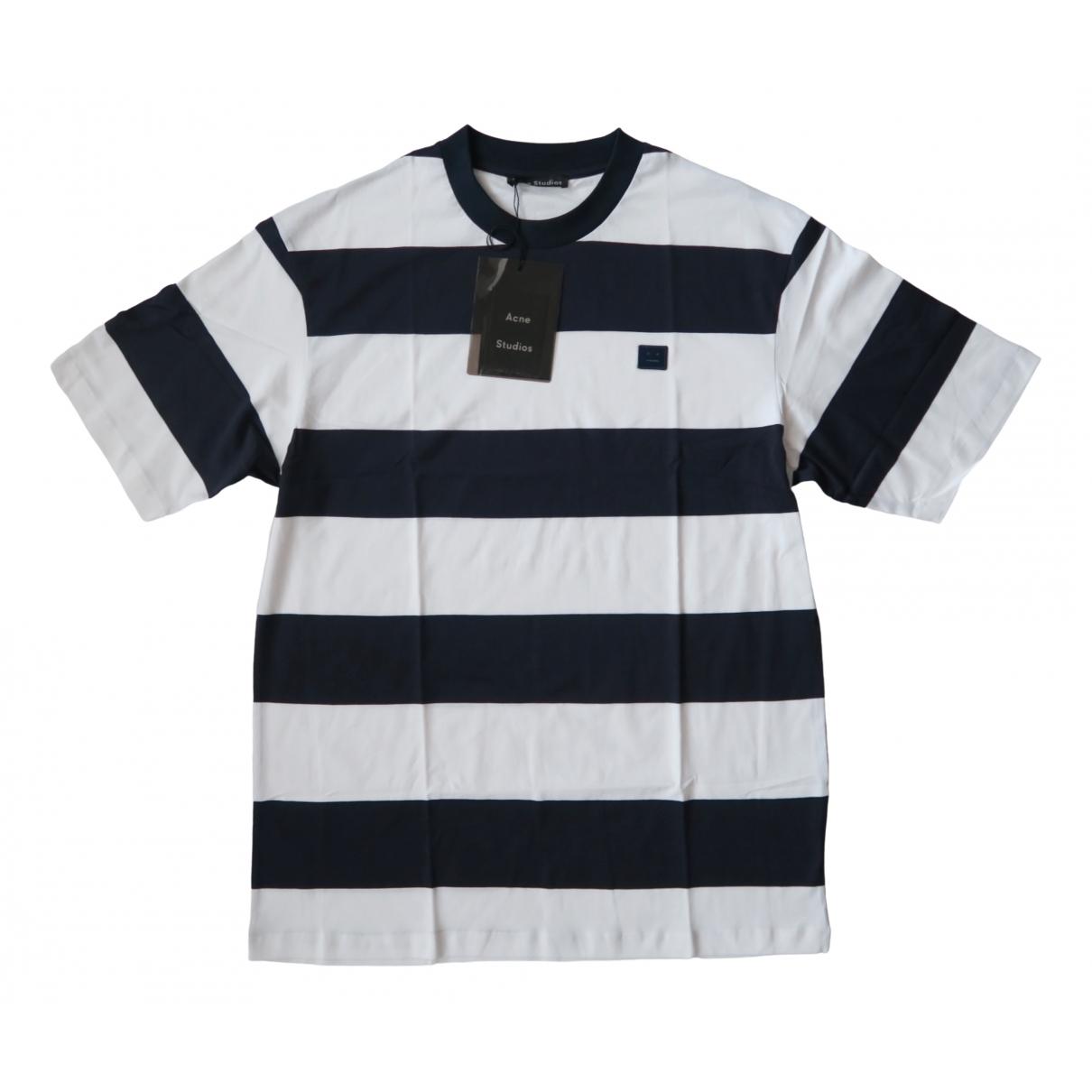 Acne Studios \N White Cotton T-shirts for Men M International
