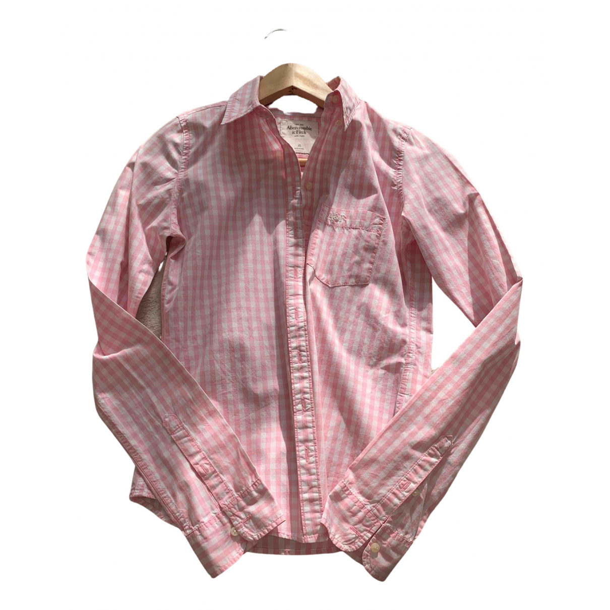 Abercrombie & Fitch N Pink Cotton  top for Women XS International