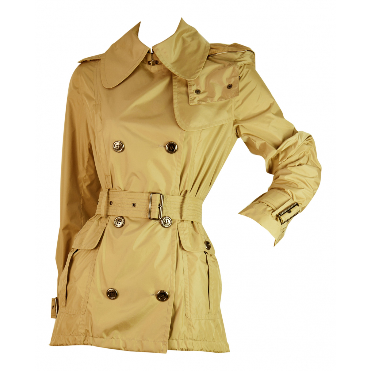 Burberry \N Trench in  Braun Polyester