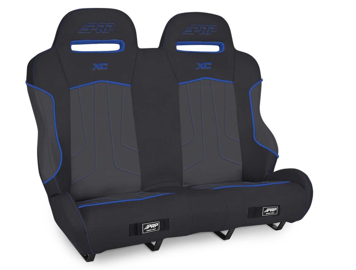 XC Suspension Bench for Polaris RZR Black/Blue PRP Seats A79-V