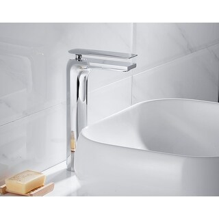 Modern Vanity Single-hole Faucet LB9301H (Chrome)