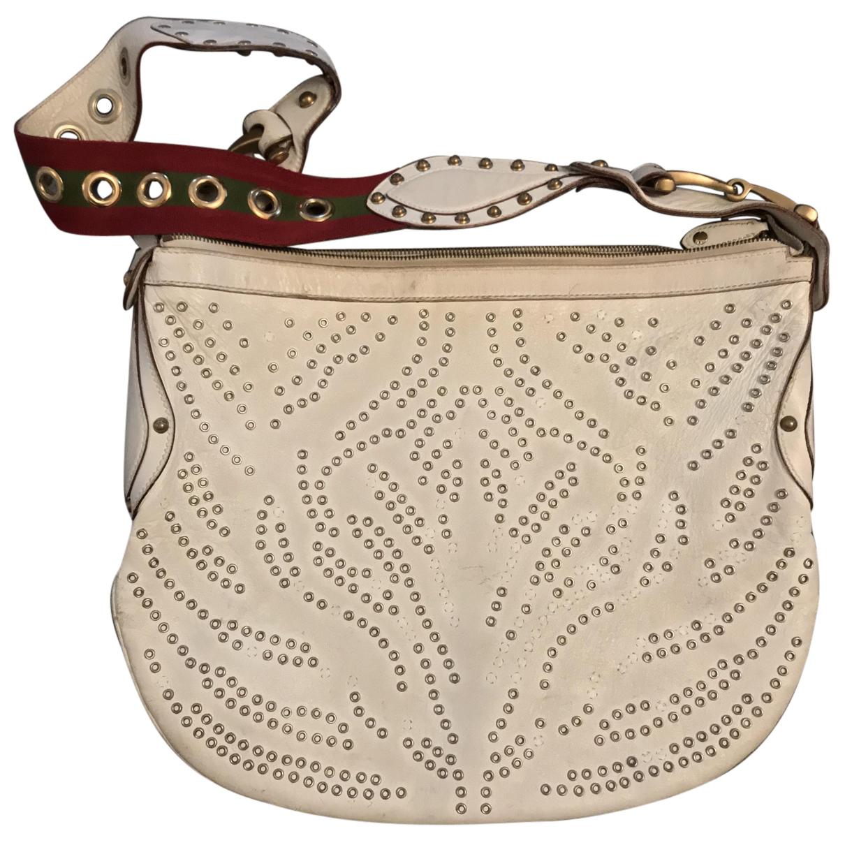 Gucci N White Leather handbag for Women N