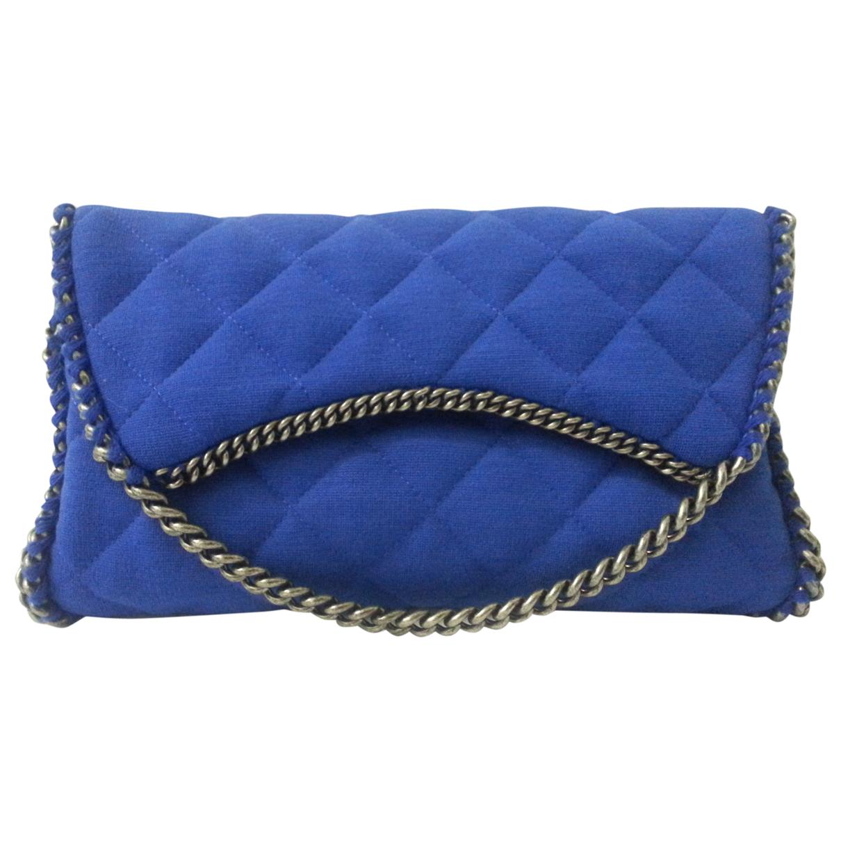 Chanel - Pochette   pour femme en coton - bleu