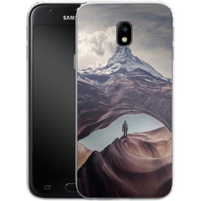 Samsung Galaxy J3 (2017) Silikon Handyhuelle - The Great Outdoors von Enkel Dika