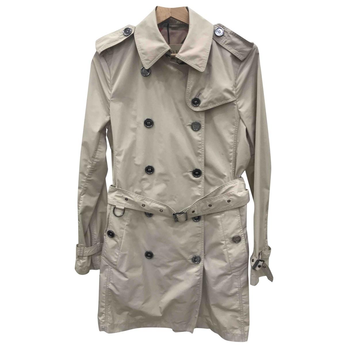 Burberry \N Beige Trench coat for Women 40 IT