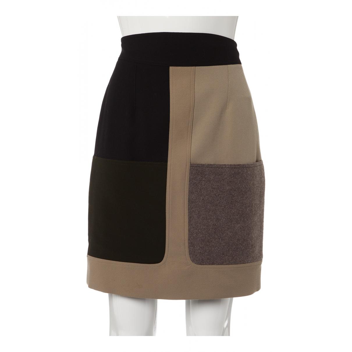 Fendi N Multicolour Wool skirt for Women 40 IT
