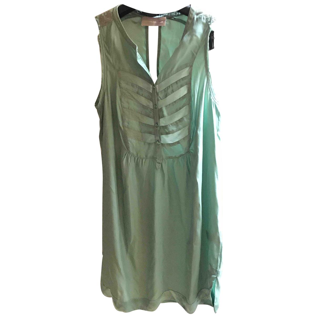 Zadig & Voltaire \N Kleid in  Tuerkis Seide